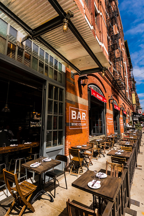 Italian Food Center, Little Italy, New York, New York USA.