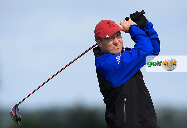 Paul Fitzgerald (Castlebar) on the 6th during the AIG Pierce Purcell Shield Final at Carton House Golf Club during the AIG Cups &amp; Shields All Ireland Finals on Friday 16/09/16.<br /> Picture: Thos Caffrey | Golffile<br /> <br /> All photos usage must carry mandatory copyright credit   (&copy; Golffile | Thos Caffrey)