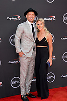 Julie Ertz &amp; Zach Ertz at the 2018 ESPY Awards at the Microsoft Theatre LA Live, Los Angeles, USA 18 July 2018<br /> Picture: Paul Smith/Featureflash/SilverHub 0208 004 5359 sales@silverhubmedia.com