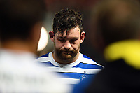 Nathan Catt of Bath Rugby looks dejected after the match. Gallagher Premiership match, between Bristol Bears and Bath Rugby on August 31, 2018 at Ashton Gate Stadium in Bristol, England. Photo by: Patrick Khachfe / Onside Images