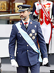 Prince Felipe of Spain attends the National Day Military Parad.October 12,2012.(ALTERPHOTOS/Acero)
