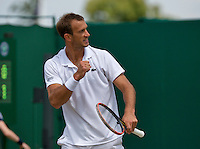 England, London, 27.06.2014. Tennis, Wimbledon, AELTC, Ante Pavic (CRO)<br /> Photo: Tennisimages/Henk Koster