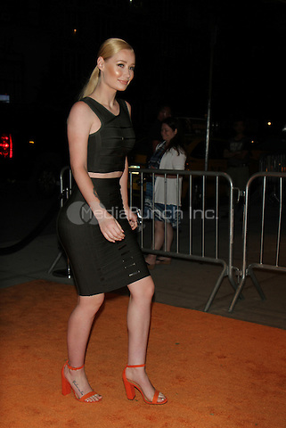 NEW YORK, NY-June 13: Iggy Azalea at  EPIX presents New York premiere of  EPIX original Documentary SERENA the Other Side of Greatness at the SVA Theatre in New York. NY June 13, 2016. Credit:RW/MediaPunch