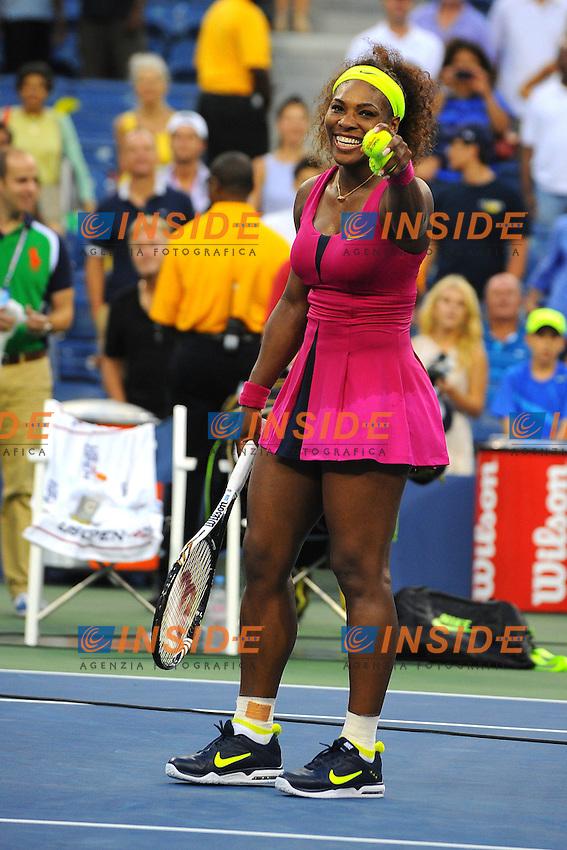 Serena Williams (USA) .Flushing Meadows 7/9/2012 .Tennis Us Open Grande Slam.Foto Insidefoto / Virginie Bouyer / Panoramic.ITALY ONLY