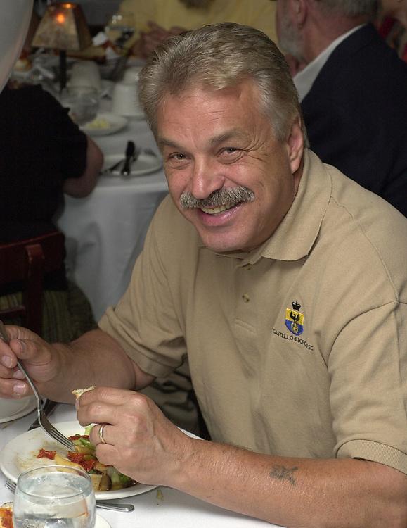 Joe Dombroski, seen attending the retirement party for John Cornell on October 10, 2000. Photo by Jim Peppler. Copyright/Jim Peppler-2000
