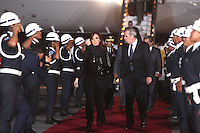 LIMA,PER&Uacute;-18/04/2013. Arribo del Presidente de Argentina, Cristina Fern&aacute;ndez, para la reuni&oacute;n UNASUR en Palacio de Gobierno. <br /> &copy; ANDINA/OscarFarje/NortePhoto