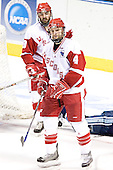(Matt Olinger) Davis Drewiske - The University of Wisconsin Badgers defeated the University of Maine Black Bears 5-2 in their 2006 Frozen Four Semi-Final meeting on Thursday, April 6, 2006, at the Bradley Center in Milwaukee, Wisconsin.  Wisconsin would go on to win the Title on April 8, 2006.