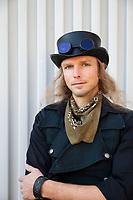 Andy Van Orverberghe, Steampunk Steamposium 2017, Seattle, WA, USA.