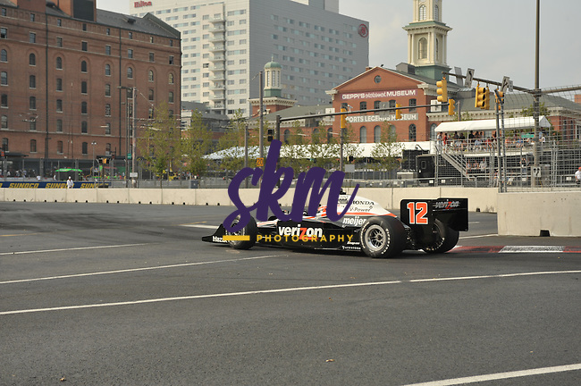 The final day of teh Baltimore Grand Prix Weekend culminated in the Izod Indy Car Series race through the streets of Baltimore