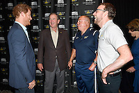 08 May 2016 - Prince Harry and George W. Bush at the Invictus Games 2016 Symposium held in Lake Buena Vista, Florida. Photo Credit: Alpha Press/AdMedia