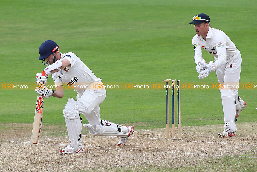 Mark Wallace of Glamorgan attempts the stumping of James Foster - Essex CCC vs Glamorgan CCC - LV County Championship Division Two Cricket at the Essex County Ground, Chelmsford - 02/06/14 - MANDATORY CREDIT: Gavin Ellis/TGSPHOTO - Self billing applies where appropriate - 0845 094 6026 - contact@tgsphoto.co.uk - NO UNPAID USE