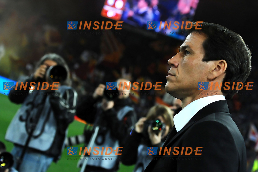 Rudi Garcia Roma <br /> Roma 12-04-2014 Stadio Olimpico - Football Calcio 2013/2014 Serie A, AS Roma - Atalanta, Foto Andrea Staccioli / Insidefoto