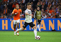 Joshua Kimmich (Deutschland, Germany) - 13.10.2018: Niederlande vs. Deutschland, 3. Spieltag UEFA Nations League, Johann Cruijff Arena Amsterdam, DISCLAIMER: DFB regulations prohibit any use of photographs as image sequences and/or quasi-video.