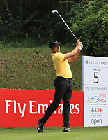 Julian Suri (USA) on the 5th tee during Round 1 of the UBS Hong Kong Open, at Hong Kong golf club, Fanling, Hong Kong. 23/11/2017<br /> Picture: Golffile | Thos Caffrey<br /> <br /> <br /> All photo usage must carry mandatory copyright credit     (&copy; Golffile | Thos Caffrey)