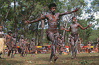 Mossman Yalanji Dancers 1,  Laura Aboriginal Dance Festival, Laura, Cape York Peninsula, Queensland, Australia.