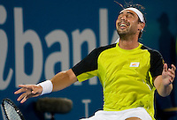 Marcus Baghdatis (CYP) against Richard Gasquet (FRA) in the Final of the Mens Singles. Baghdatis beat Gasquet 6-4 7-6 (2)..International Tennis - Medibank International Sydney - Sat 16 Jan 2010 - Sydney Olympic Park  Tennis Centre- Sydney - Australia ..© Frey - AMN Images, 1st Floor, Barry House, 20-22 Worple Road, London, SW19 4DH.Tel - +44 20 8947 0100.mfrey@advantagemedianet.com