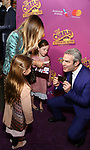 Andy Cohen, Sarah Jessica Parker, Marion Loretta Broderick, Tabitha Broderick attend the Broadway Opening Performance of 'Charlie and the Chocolate Factory' at the Lunt-Fontanne Theatre on April 23, 2017 in New York City.