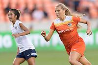 Houston, TX - Thursday Aug. 18, 2016: Melissa Henderson during a regular season National Women's Soccer League (NWSL) match between the Houston Dash and the Washington Spirit at BBVA Compass Stadium.