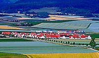 Plantaçoes de trigo na Bavaria. Alemanha. 2011. Foto de Juca Martins.