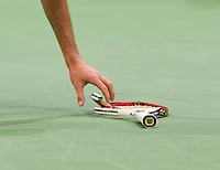 14-02-13, Tennis, Rotterdam, ABNAMROWTT,  Grigor Dimitrov' racket