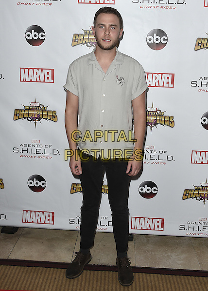 LOS ANGELES, CA - SEPTEMBER 19:  Iain De Caestecker at the premiere Of ABC's &quot;Agents Of SHIELD&quot; Season 4 at Pacific Theatres at The Grove on Sunday, September 19, 2016, in Los Angeles, California. <br /> CAP/MPI99<br /> &copy;MPI99/Capital Pictures