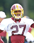 Ashburn, VA - August 6, 2009 -- Cornerback Fred Smoot (27) works out during the 2009 Washington Redskins Training Camp at Redskins Park in Ashburn, Virginia on Thursday, August 6, 2009..Credit: Ron Sachs / CNP