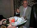 Armenia 2007 <br /> A Yezidi wedding in a village: A guest giving money to the newly weds <br /> Armenie 2007 <br /> Un mariage yezidi dans un village: un invit&eacute; donnant de l'argent pour les nouveaux mari&eacute;s