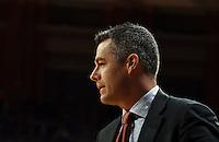 Virginia head coach Tony Bennett during the game Dec. 19, 2015 in Charlottesville, Va. Virginia defeated Villanova 86-75. Photo/Andrew Shurtleff