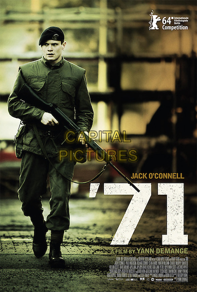 POSTER ART<br /> in '71 (2014) <br /> *Filmstill - Editorial Use Only*<br /> CAP/FB<br /> Image supplied by Capital Pictures