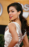 LOS ANGELES, CA. - January 25: Actress Rosario Dawson arrives at the 15th Annual Screen Actors Guild Awards held at the Shrine Auditorium on January 25, 2009 in Los Angeles, California.