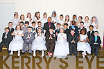 Pupils of Denis Griffin and Karen O'Connor's class, Mercy Moyderwell primary school who have made their First holy Communion, pictured on Tuesday. Pictured are: Debbie Oluwadare, Nelly Olanrewaju, Jessica OShea, Adam Maher, Sophie Reidy, Daniel Moriarty, Paula Rogers, Tobi Agboola, Favor Itsede, Christian Ycasas, Alisa Must, Jesse Duggan and Allan Wall Griffin, Grace Foley, David Hughes, April OConnor, Darragh OSullivan, Paulius Zymantas, Samantha Ziauberyte, Michael Rowe, Eimear ODowd, Sean OSullivan, Alicja Suska, Cassidy Barrett, Karim Pilipchik, Freya OConnor, Adam Bentley, Victoria Fitzgerald, Jeff Owen Samointe, Paris Nana, Oliwia Ciniecka and Daniel Stoev.