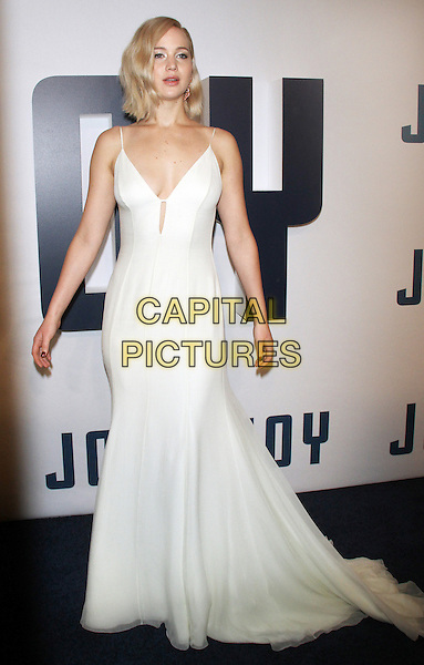 NEW YORK, NY - DECEMBER 13: Jennifer Lawrence at the World Premiere of Joy at the Ziegfeld Theatre in New York City on December 13, 2015. <br /> CAP/MPI/RW<br /> &copy;RW/MPI/Capital Pictures
