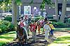 Front Rowe before The Delaware Park Arabian Juvenile Championship (grade 3) at Delaware Park on 9/27/14