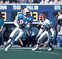Houston Oilers Haywood Jeffires (84) in action against the Cleveland Browns on October 29, 1989 at Cleveland Municipal Stadium in Cleveland, Ohio. The Browns beat the Oilers 28-17.