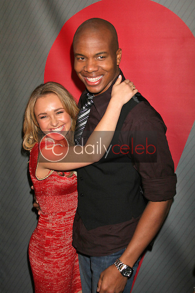 Hayden Panettiere and Leonard Roberts<br />