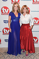 LONDON, UK. September 10, 2018: Charlotte Hawkins & Kate Garaway at the TV Choice Awards 2018 at the Dorchester Hotel, London.<br /> Picture: Steve Vas/Featureflash
