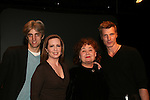 Zak Berkman (Drector), Martha Byrne, Kathleen Widdoes, Paolo Seganti at the ATWT reunion to benefit Epic Theatre Ensemble after-school Bridge Projects - As The Epic Turns - on April 17 & 18, 2009 at The Peter Jay Sharp Theatre, NYC. (Photo by Sue Coflin/Max Photos)