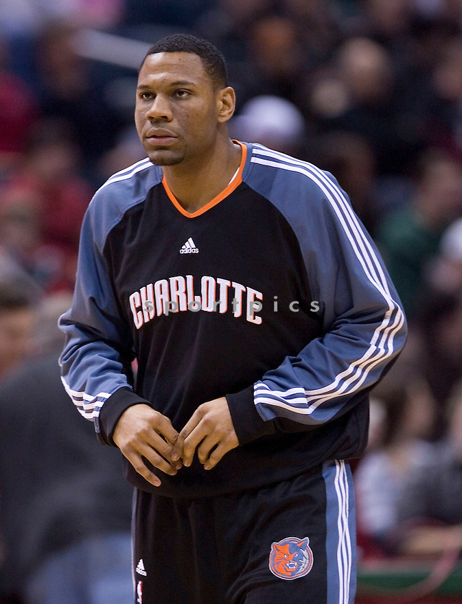 Stephen Graham.February 20, 2010 Milwaukee, WI. Bradley Center...Milwaukee Buck won over the Charlotte Bobcats 93-88.