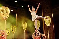 Beijing ,China- 2007 File Photo -<br /> <br /> <br />  acrobats performance<br /> <br /> <br /> photo : James Wong-  Images Distribution