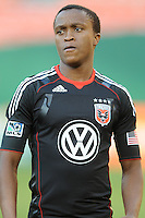 DC United midfielder Thabiso Khumalo (17).  DC United defeated The Kansas City Wizards  2-0 at RFK Stadium, Wednesday  May 5, 2010.
