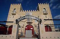 Europe/Espagne/Baléares/Minorque/Cala en Porter : Hostal Castillo Sancho Pansa