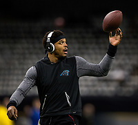 Photography of the NFL NFC Wild-Card game between the Carolina Panthers v. The New Orleans Saints, Sunday afternoon, at the Mercedes- Benz  Superdome in New Orleans, LA.<br /> <br /> Charlotte Photographer - PatrickSchneiderPhoto.com
