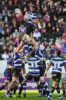 Luke Charteris of Bath during the European Challenge Cup semi final between Stade Francais and Bath on April 23, 2017 in Paris, France. ( Photo by Andre Ferreira / Icon Sport )