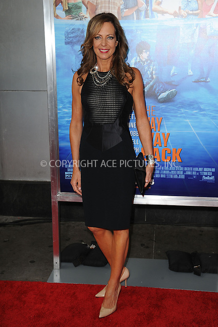 WWW.ACEPIXS.COM<br /> June 26, 2013, New York City<br /> <br /> Allison Janney attends 'The Way, Way Back ' New York Premiere at AMC Loews Lincoln Square on June 26, 2013 in New York City.<br /> <br /> By Line: Kristin Callahan/ACE Pictures<br /> ACE Pictures, Inc.<br /> tel: 646 769 0430<br /> Email: info@acepixs.com<br /> www.acepixs.com<br /> Copyright:<br /> Kristin Callahan/ACE Pictures