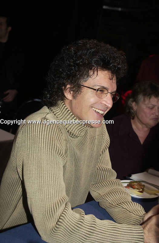 Gino Vanelli press conference