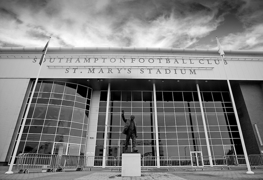 General Ground View of St Mary's Stadium...- Credit - CameraSport - James Marsh - ..Football - Barclays Premiership - Southampton v Everton - Monday 21st January 2013 - St Mary's - Southampton..