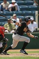 June 15 2007:  Michael Paulk of the Modesto Nuts during game against the Rancho Cucamonga Quakes at The Epicenter in Rancho Cucamonga,CA.  Photo by Larry Goren/Four Seam Image