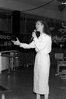Celine Dion entre 1985 et 1994 (date exacte inconnue)<br /> <br /> PHOTO :  Agence Quebec presse
