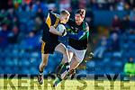 Gavin O'Shea Dr Crokes in action against Jack Donovan Nemo Rangers in the Munster Senior Club Championship Final at Páirc Ui Rinn, Cork on Sunday.