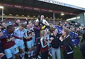 02/05/16 Sky Bet League Championship  Burnley v QPR<br /> Players celebrate promotion